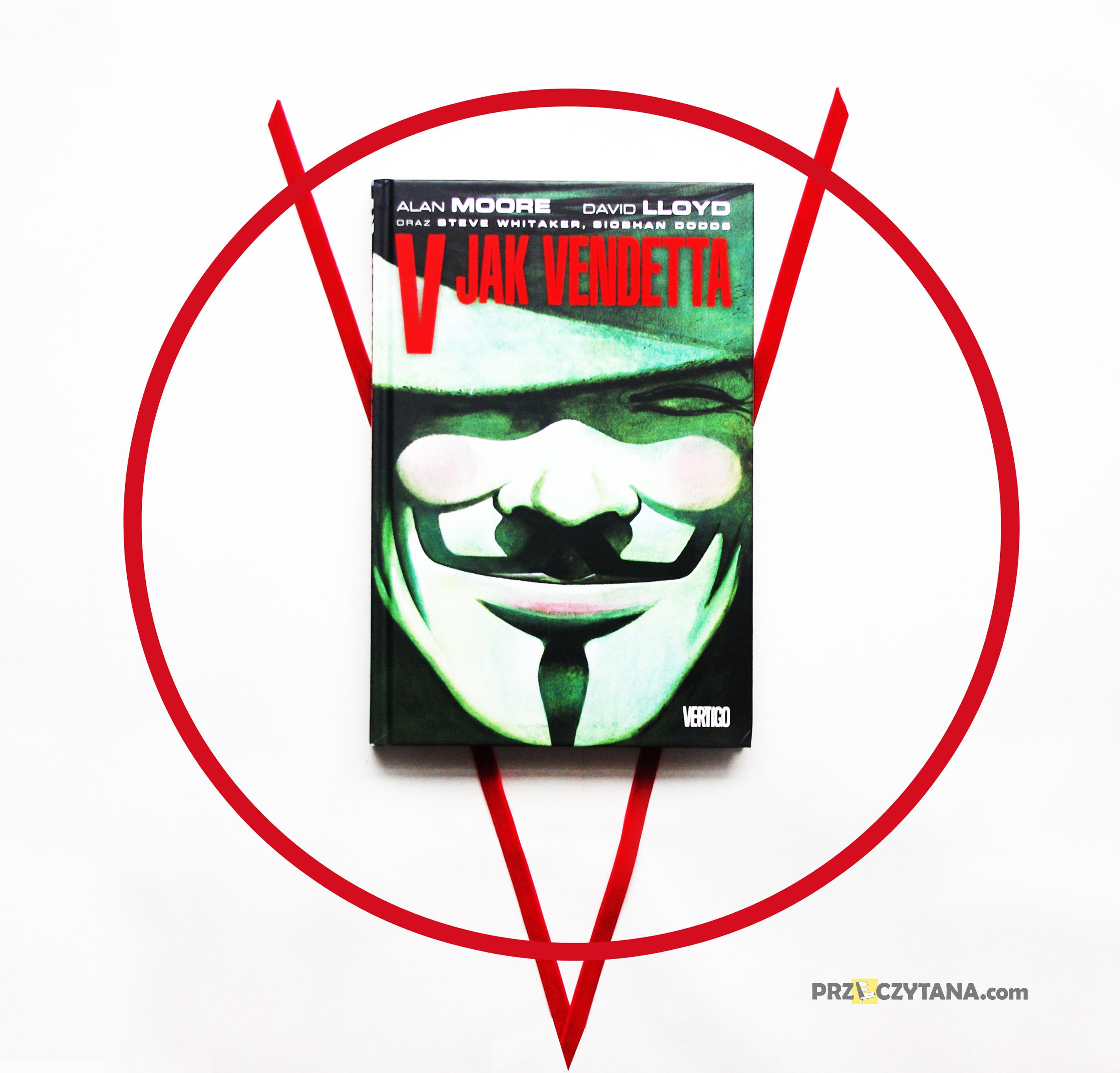 Komiks V jak Vendetta. Recenzja