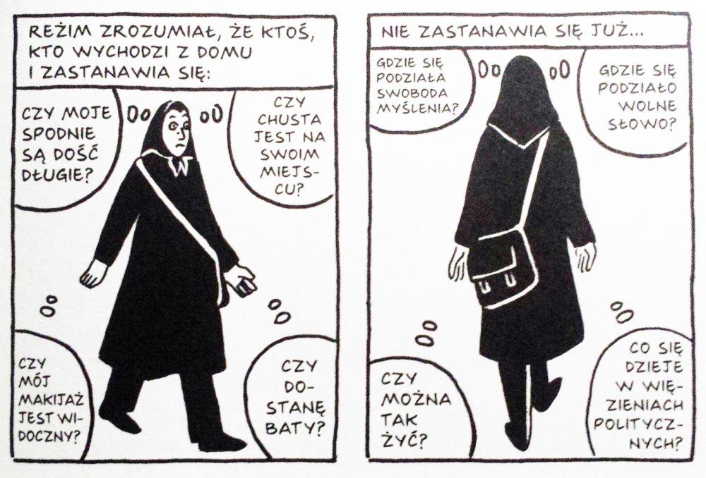 M. Satrapi, Persepolis (komiks). Recenzja