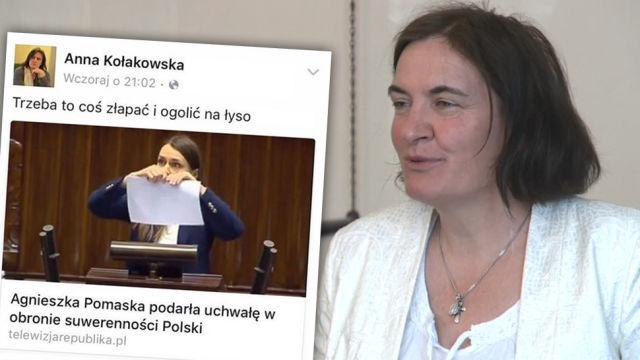 Źródło: https://www.tvn24.pl/pomorze,42/gdansk-radna-kolakowska-skazana-na-grzywne-za-zniewazenie-pomaskiej,823577.html